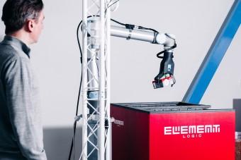 righthand robotics. Ausrichtung horizontal