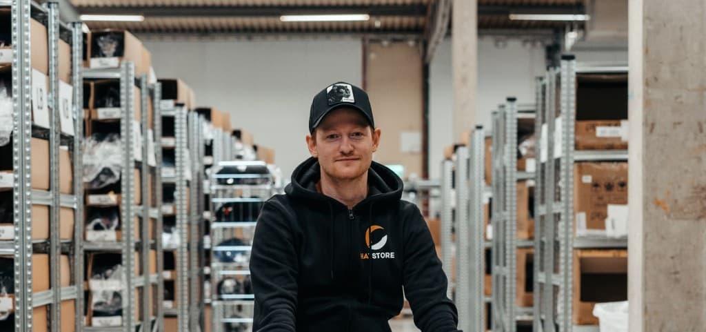 Filip Klasson, Geschäftsführer von Hatstore