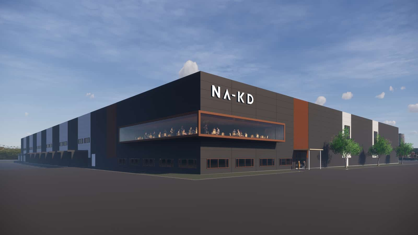 NA-KD AutoStore Lager