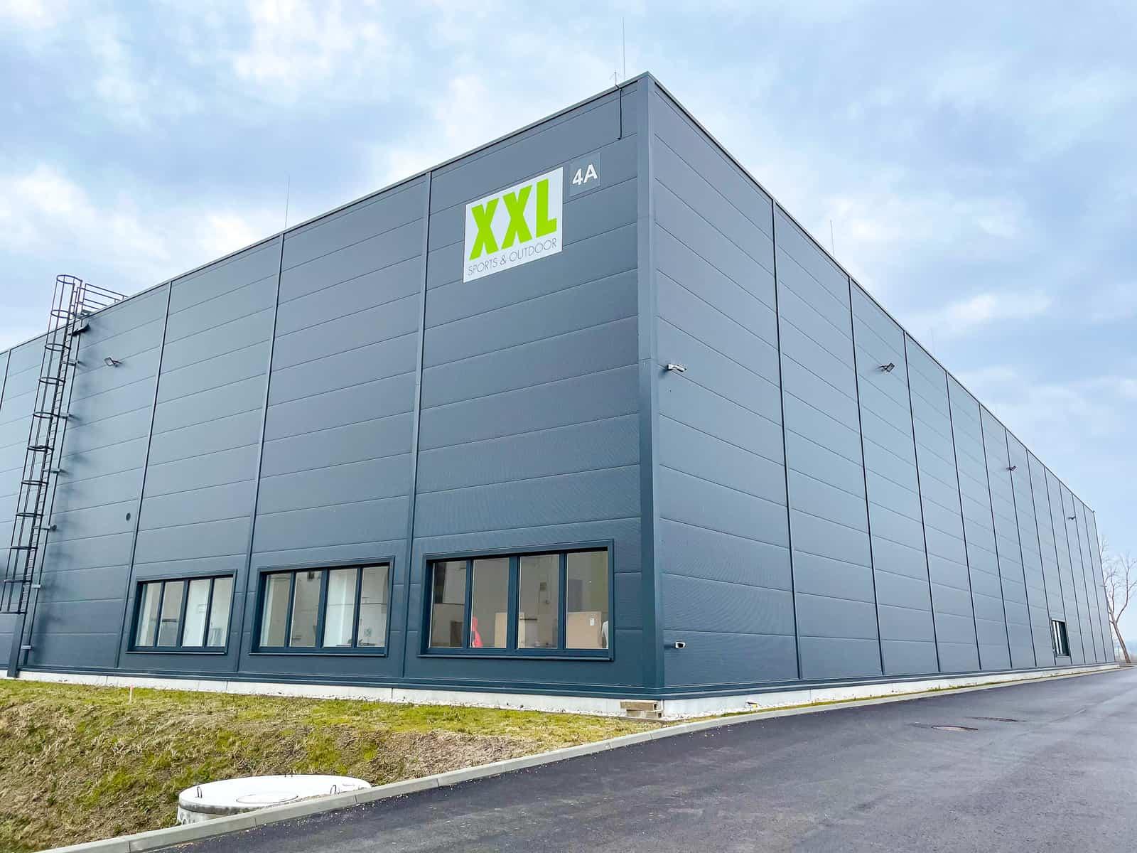 Central Warehouse Austria XXL Gebäude von außen