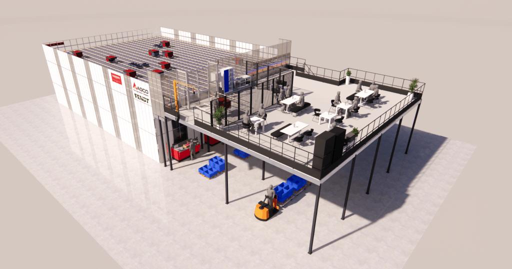 AutoStore 3D Sketchup