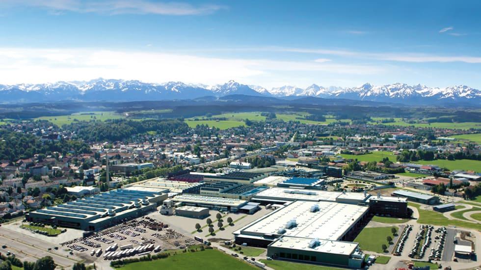 AGCO Fendt Werksgelände Marktoberdorf